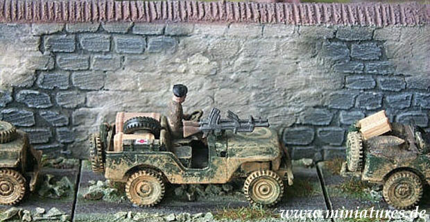 Commando Jeep, 1:87 Automodell ROCO 142