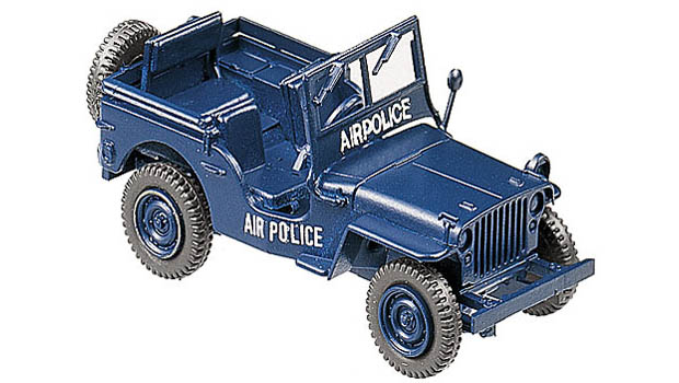 Jeep Air Police, 1:87 Automodell ROCO 672